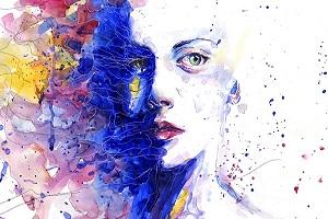 Kurz  maľovania - autoportrét s troškou psychológie