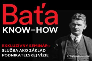 BAŤA KNOW-HOW: Obchod – služba ako základ podnikateľskej vízie